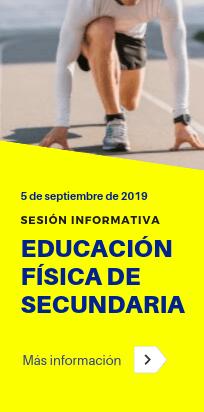 Sesión informativa sobre la preparación de oposiciones de Secundaria, especialidad de Educación Física - Academia CLAUSTRO