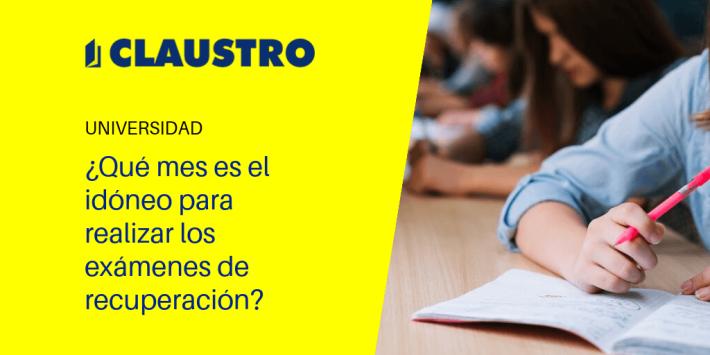 Julio o septiembre - Academia CLAUSTRO Sevilla