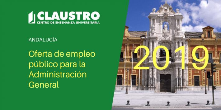 Oferta de empleo público para la Administración General correspondiente a 2019 - Andalucía