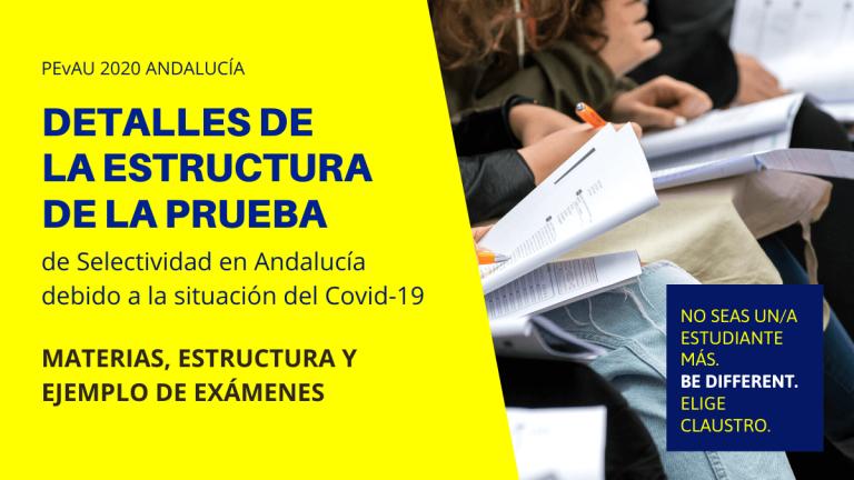 Estructura de la Selectividad de 2020 adaptada a la situación provocada por el Covid-19
